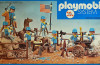 Playmobil - 23.40.8 - V1-trol - 7 union soldiers with cannon and horse