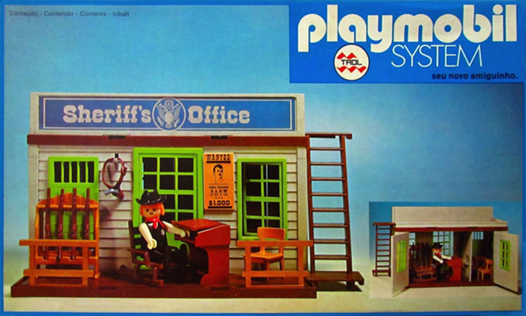 Playmobil 23 42 3 Trol Sheriff S Office Box