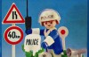 Playmobil - 23.57.2-trol - policeman with motorcycle