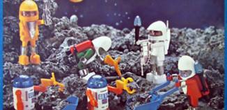 Playmobil - 23.74.1-trol - astronauts and robots