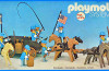 Playmobil - 23.75.1-trol - Union Cavalry with Horse Wagon