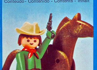 Playmobil - 23.34.2-trol - Green Cowboy with Horse
