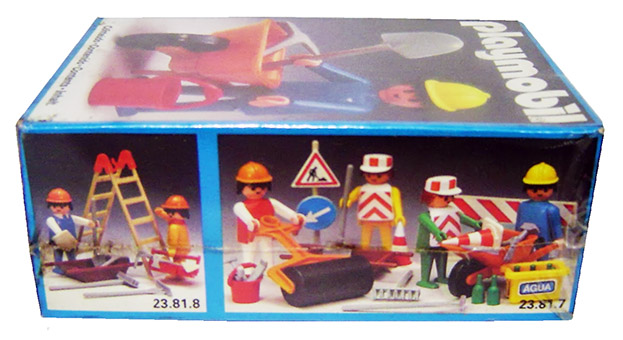 Playmobil 23.81.6-trol - constuction worker - Box