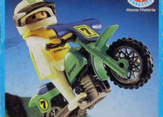 Playmobil - 30.12.01-est - off-road motorcycle