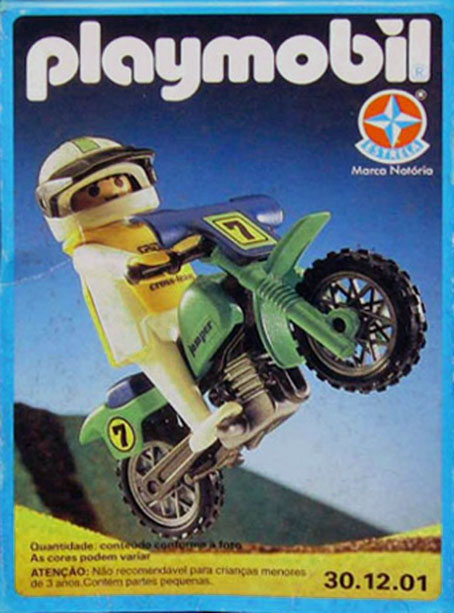 Playmobil 30.12.01-est - off-road motorcycle - Box