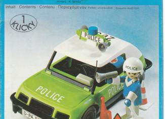 Playmobil - 3215-lyr - Police car