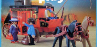 Playmobil - 3245-esp - Red Stagecoach
