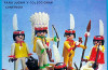 Playmobil - 3251-ant - Indian family wih canoe