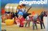 Playmobil - 3278-esp - Colons & chariot couvert