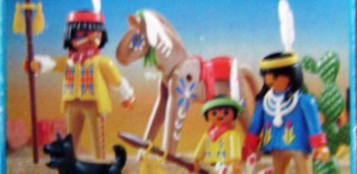 Playmobil - 3396-esp-fra - Indian family