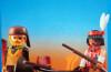 Playmobil - 3397-esp-fra - Indien et trappeur avec canoë