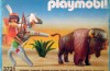Playmobil - 3731-esp - Indian With Buffalo