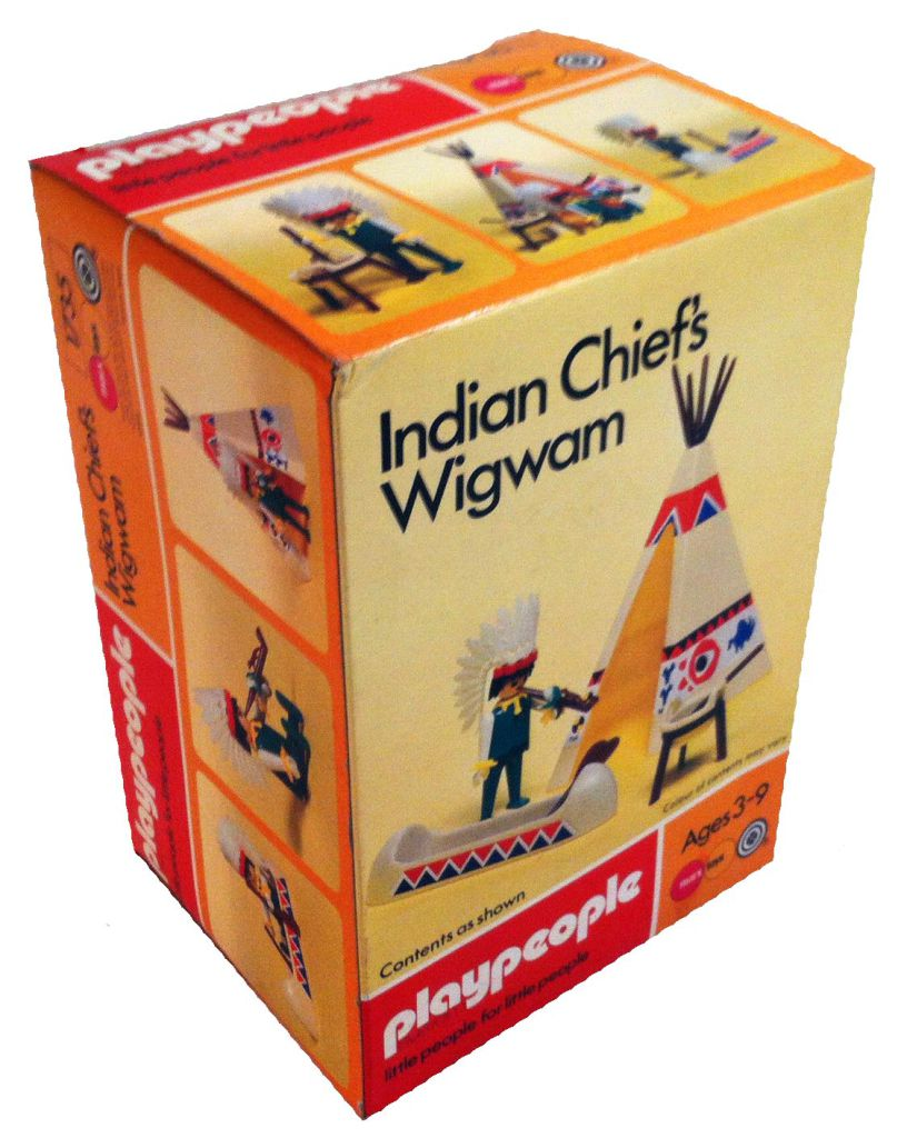 Playmobil 1735-pla - Indian Chief's Wigwam - Box