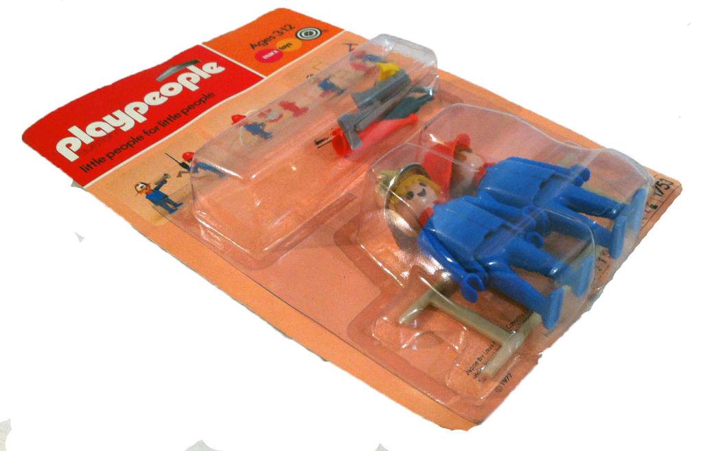 Playmobil 1752-pla - 2 firemen - Box