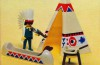 Playmobil - 1735-pla - indian chief's wigwam