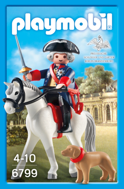 Playmobil 6799-ger - Frederick the Great - Box