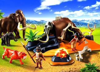 Playmobil - 5087 - Stone Age Camp
