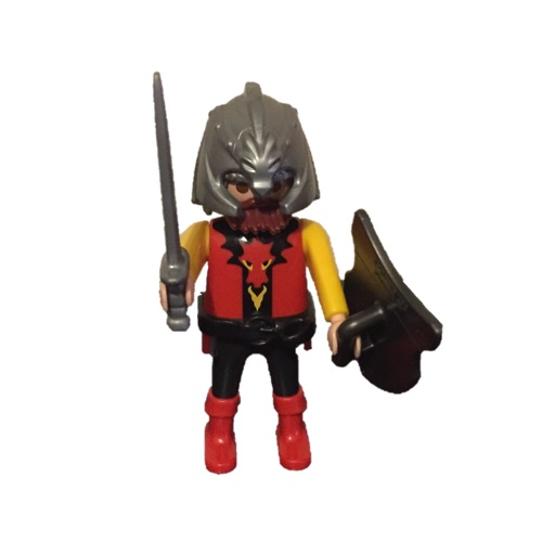 Playmobil 0000 - Red dragon Knight - free promotional - Box