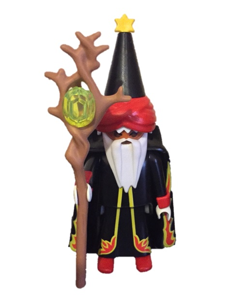 Playmobil 0000s3 - Fire Wizard - free promotional - Box