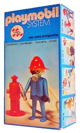 Playmobil 23.36.7-trol - fireman - Box