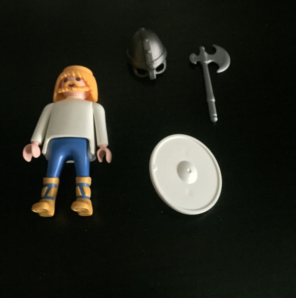 Playmobil 0000 - Color Viking - Free promotional - Back