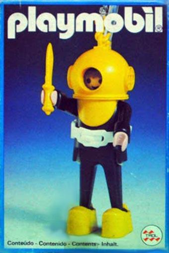 Playmobil 23.34.8-trol - hard-hat diver - Box