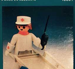 Playmobil - 13361-aur - stretcher carrier