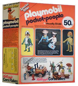 Playmobil 0000-ken - kellog's promotional figures - Box