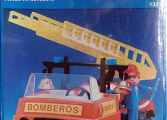 Playmobil - 13236-xat - fire truck