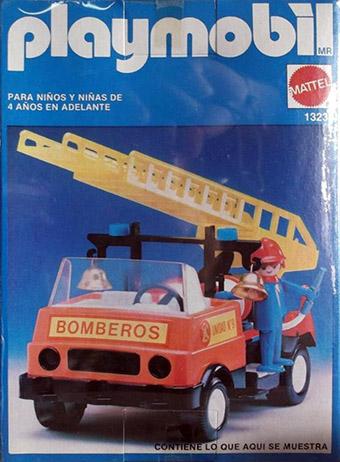 Playmobil 13236-xat - fire truck - Box