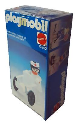 Playmobil 13362-xat - stretcher carrier - Box
