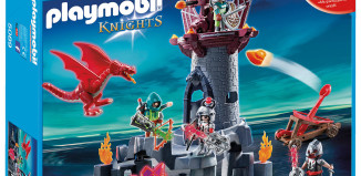 Playmobil - 5089 - Stone Tower Dragon soldiers