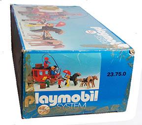 Playmobil 23.75.0-trol - Red stagecoach - Box
