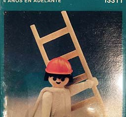 Playmobil - 13311-aur - construction worker with ladder