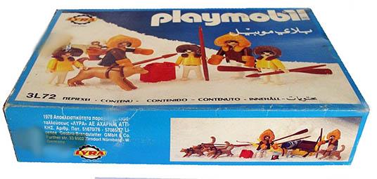 Playmobil 3L72-lyr - polar hunters family - Box