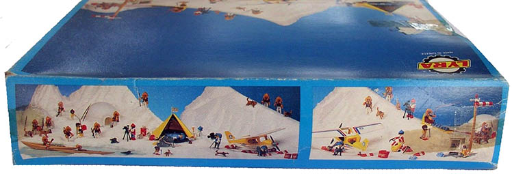 Playmobil 3L72-lyr - polar hunters family - Back