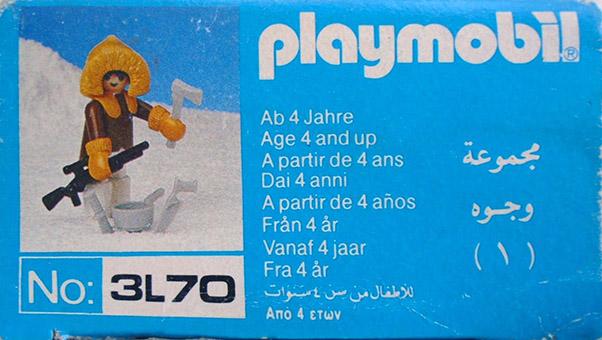 Playmobil 3L70-lyr - eskimo hunter - Box