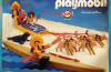 Playmobil - 3466-lyr - kayak and dog sled