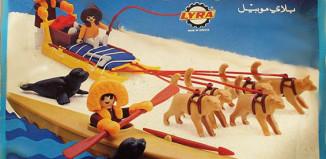 Playmobil - 3466-lyr - kayak and dog sled