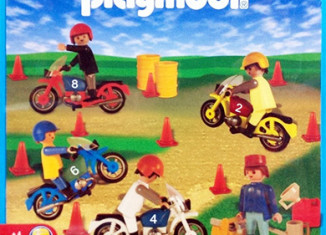 Playmobil - 1-9523-ant - motorcycle race