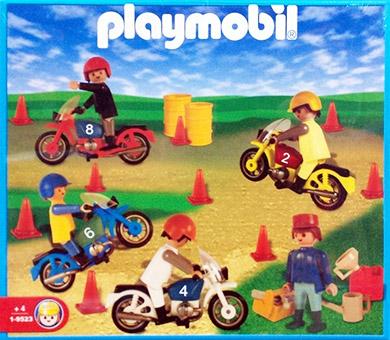 Playmobil 1-9523-ant - motorcycle race - Box