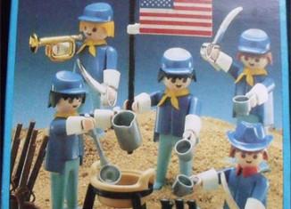 Playmobil - 13242-aur - 5 union soldiers