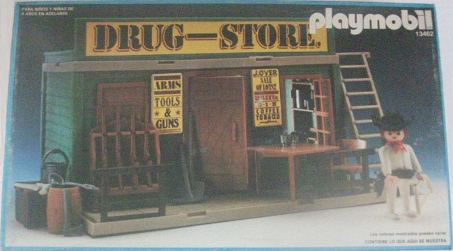 Playmobil 13462-aur - drugstore - Box