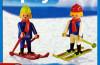 Playmobil - 1-3505-ant - 2 skiers