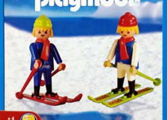 Playmobil - 1-3505-ant - 2 Skifahrer