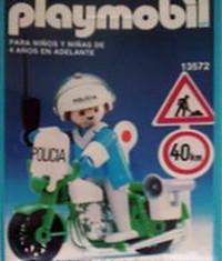 Playmobil - 13572-aur - Policier à moto