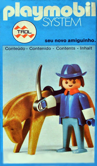 Playmobil 23.35.3 - V1-trol - Union Soldier with Horse - Box