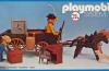 Playmobil - 23.75.6-trol - Cowboys & safe in wagon