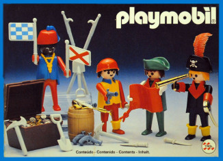 Playmobil - 23.80.0-trol - 4 pirates