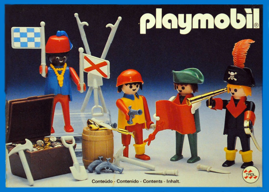 Playmobil 23.80.0-trol - 4 pirates - Box
